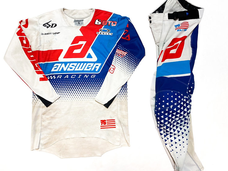 Answer Elite red/blue/white gear combo (30/S)