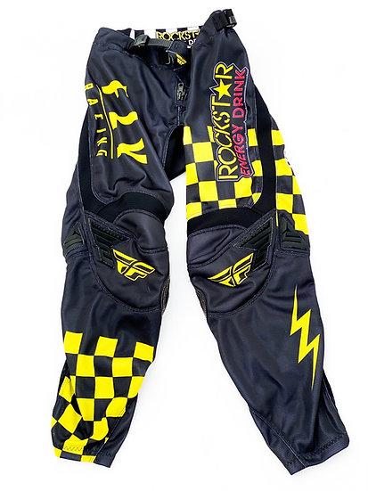 Fly Kinetic Rockstar Husky yellow/black pants Size 28