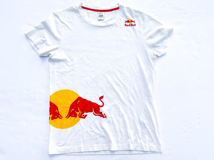 "Redbull ""Athlete Only"" T-shirt white Size Medium"