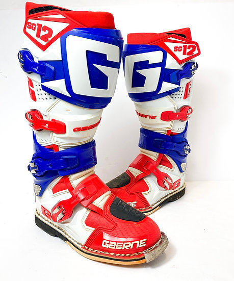 Gaerne SG-12 red/blue boots Size 7