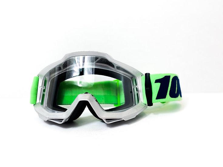100% Accuri green/silver
