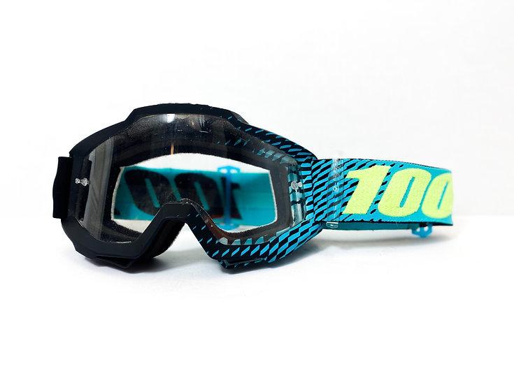 100% Accuri blue/green