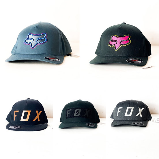 Fox Racing flex fit/snapback hat (LOT OF 5) BRAND NEW