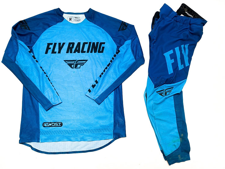 Fly Evolution blue/teal gear combo (30/M)