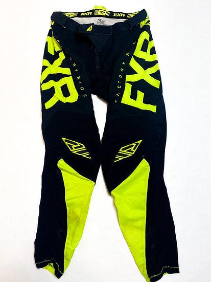 FXR pants navy/volt Size 32