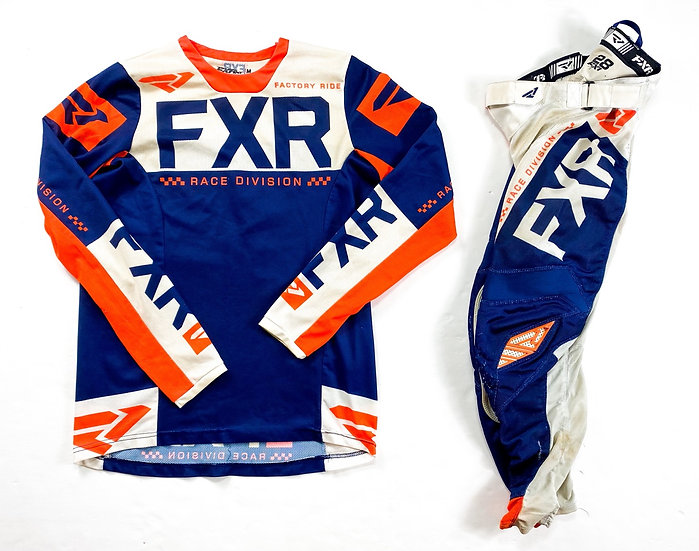 "FXR ""Helium Air"" orange/navygear combo (28/M)"