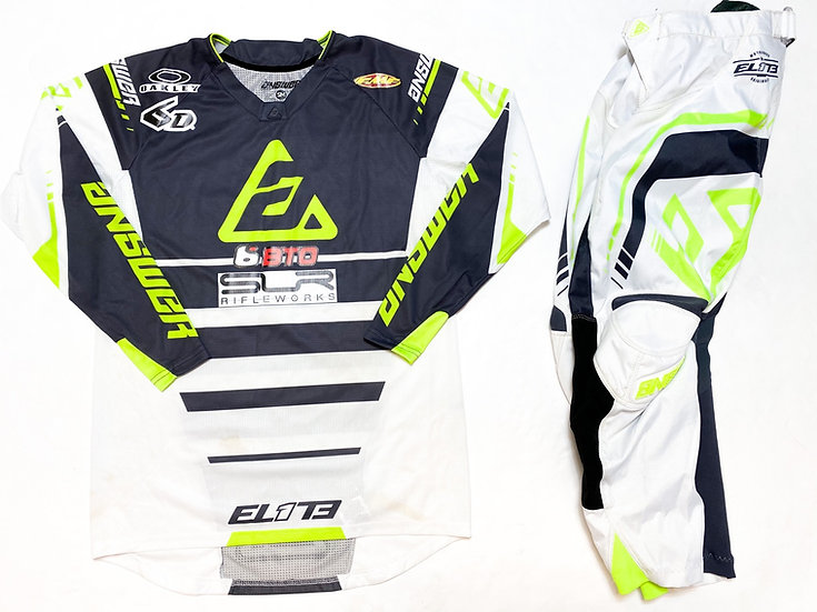 Answer Elite white/green gear combo (28/S)
