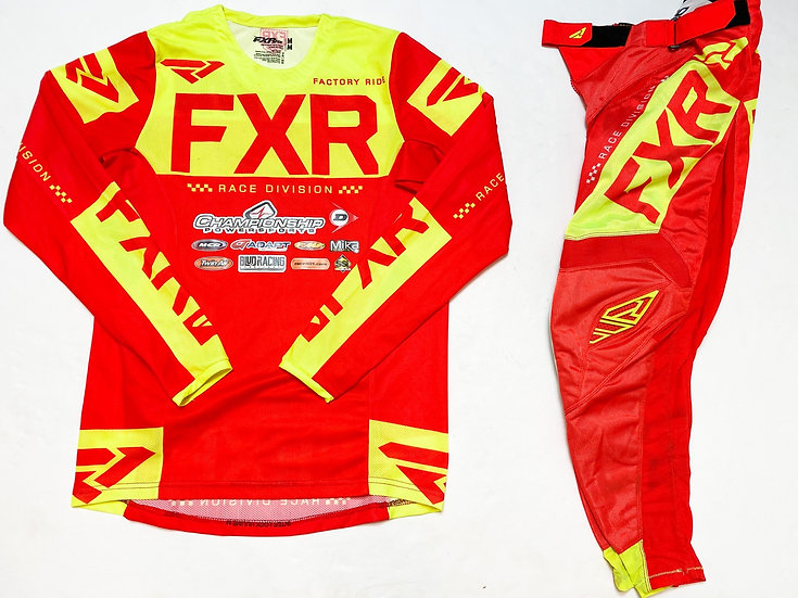 FXR Helium Air red/yellow gear combo (30/M)