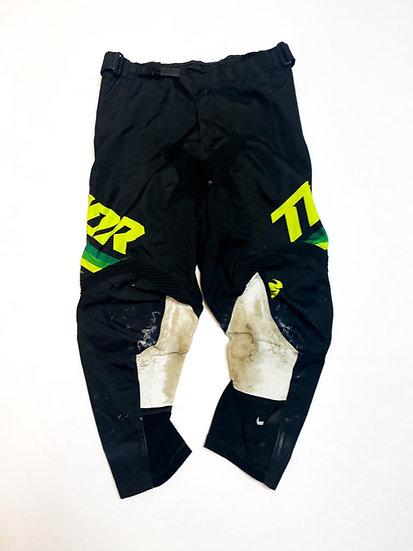 Thor pants green/black Size 32