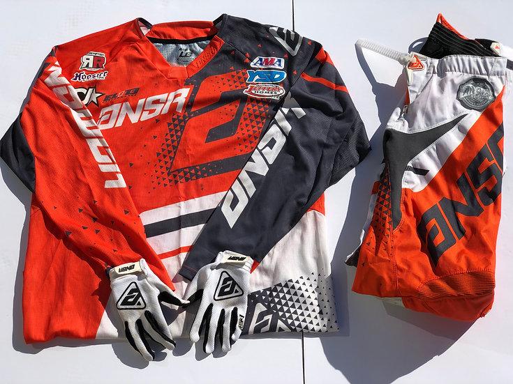 Answer Elite gear combo orange/white (30/large)