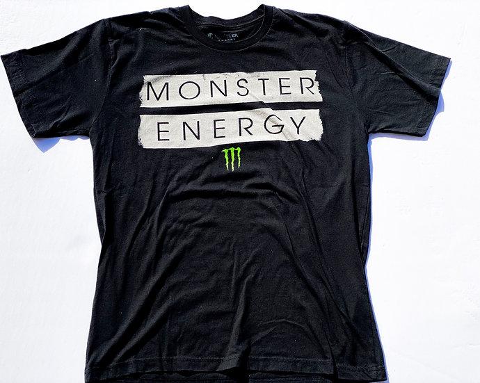 "Monster Energy ""athlete only"" T-shirt size Medium"