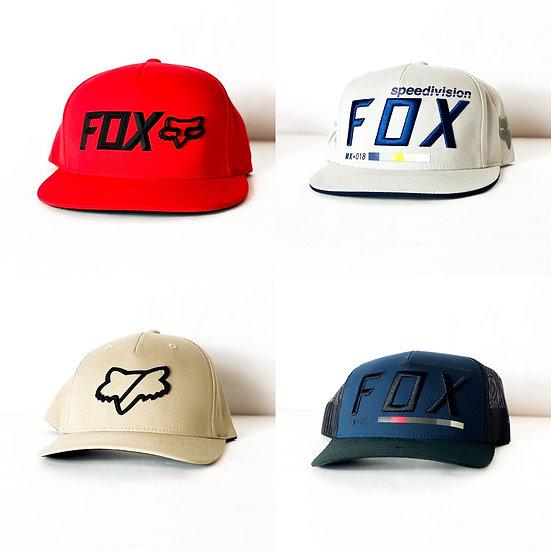 Fox Racing flex fit/snapback (LOT OF 4) used hats