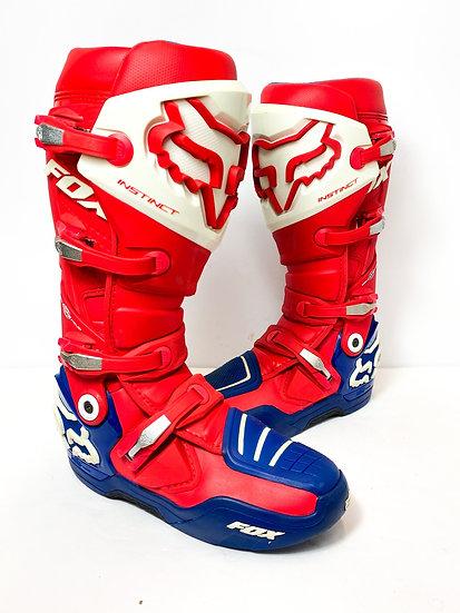 Fox Instinct red/blue boots Size 10