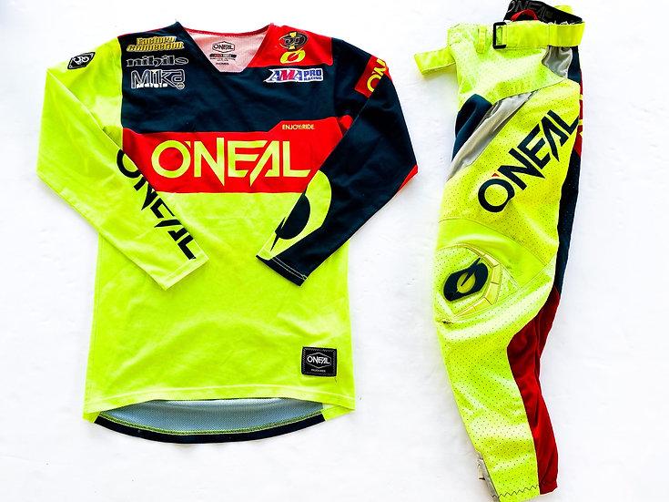 O'Neal Hardwear volt yellow/navy gear combo (28/S)