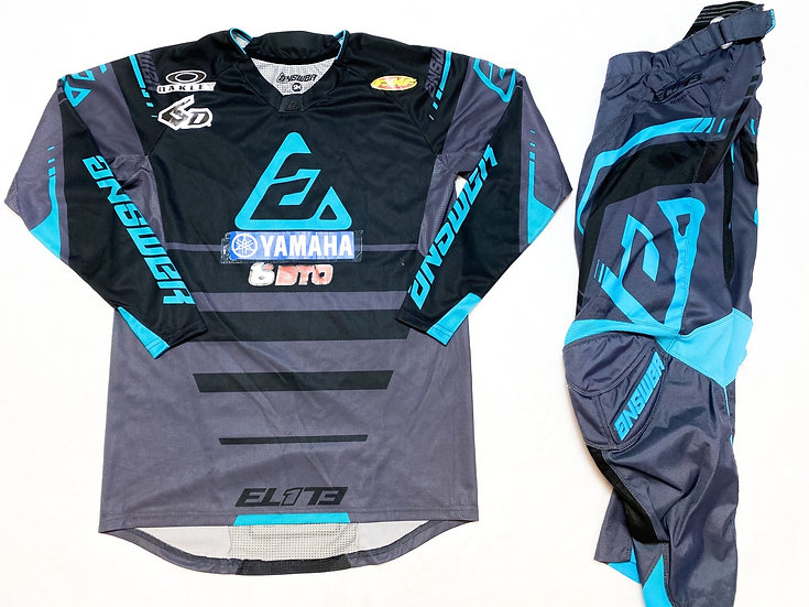 Answer Elite teal/grey gear combo (28/S)
