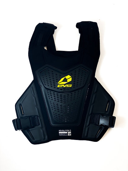 EVS Revo 5 Roost Deflector black/yellow Size L/XL