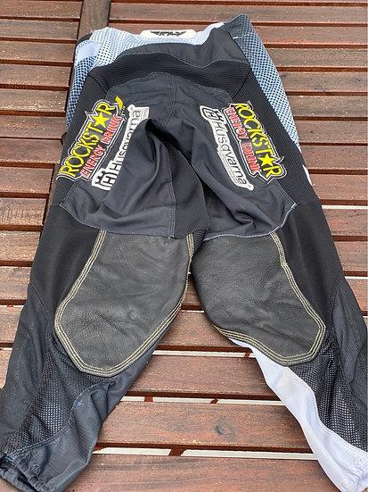 Zach Osborne race worn Fly Kinetic Rockstar pants Size 30