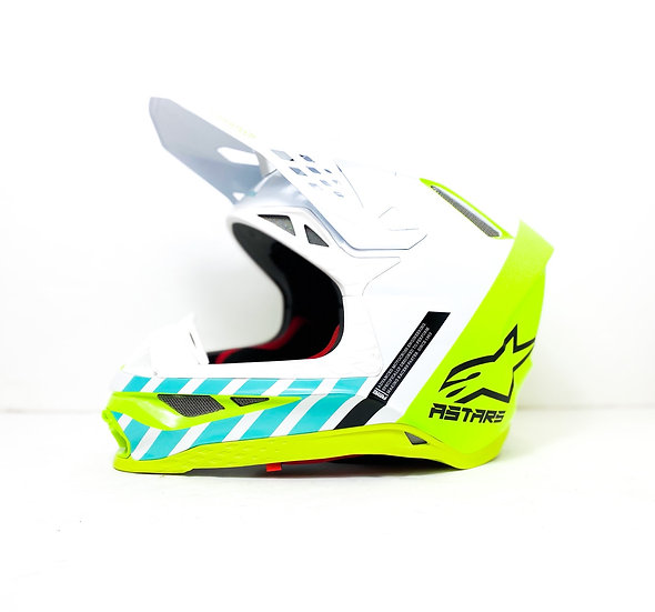 "Alpinestars Supertech M8 ""Anaheim"" LE helmet BRAND NEW Size Medium"