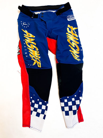 Answer MX Trinity red/blue pants Size 32