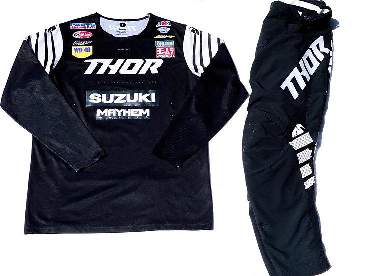 2020 Thor Prime Pro black/white gear combo (32/L)