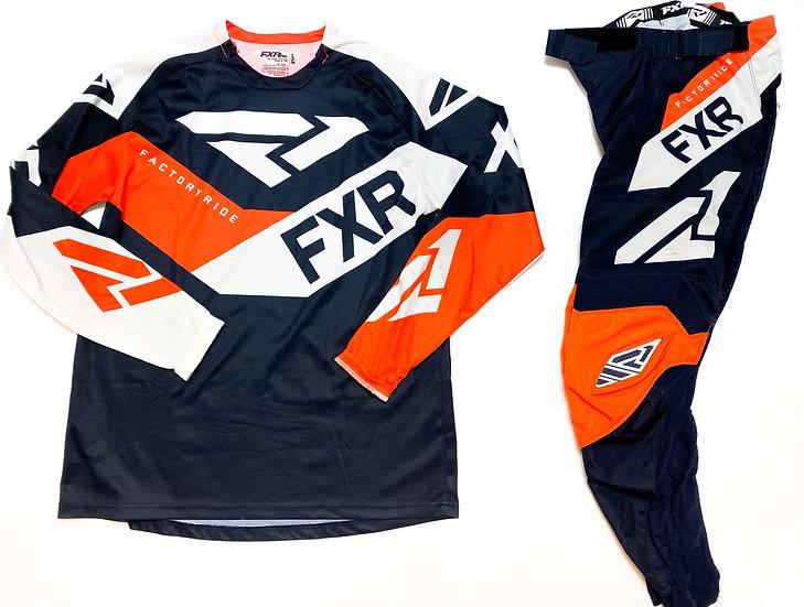 FXR Podium orange/black gear combo (30/L)