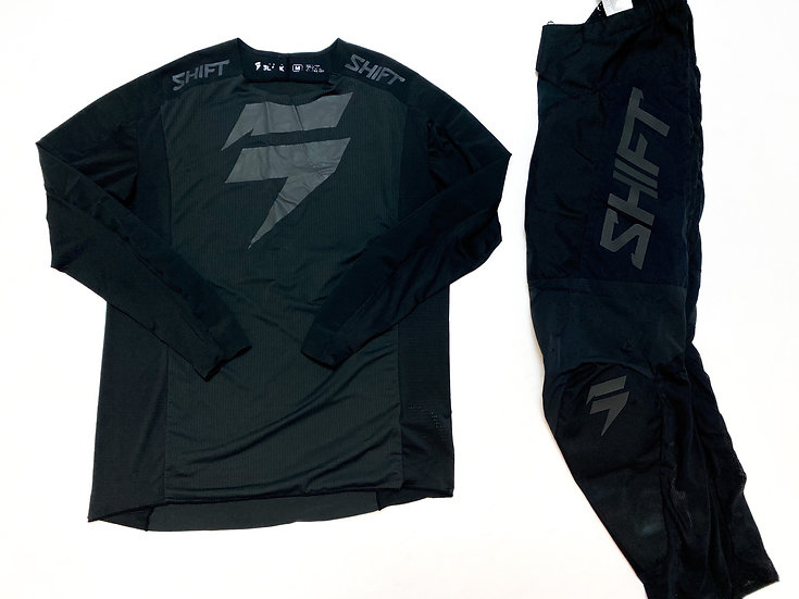 Shift Black Label black/black gear combo (32/M)