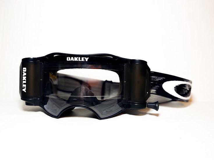 Oakley Airbrake Rolloff black/white