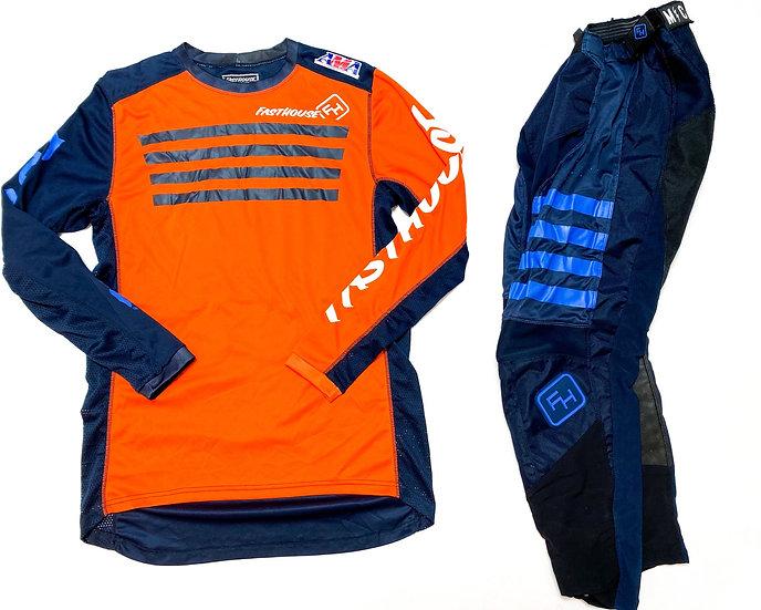 FastHouse orange/navy gear combo (28/M)