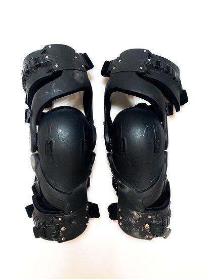 Asterisk Cyto Cell Knee Brace Pair black Size Medium
