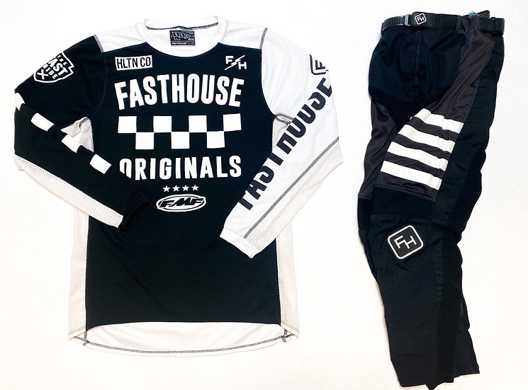 FastHouse black/white gear combo (28/M)