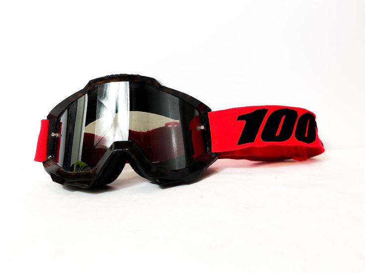 100% Accuri black/red