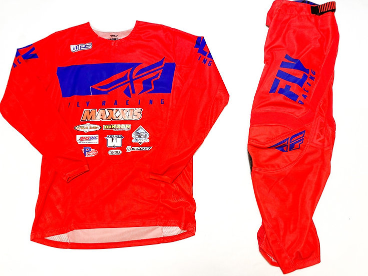 Fly Kinetic Mesh red/blue gear combo (32/L)