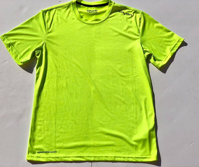 Seven mx Elevate training shirt lime green size Medium