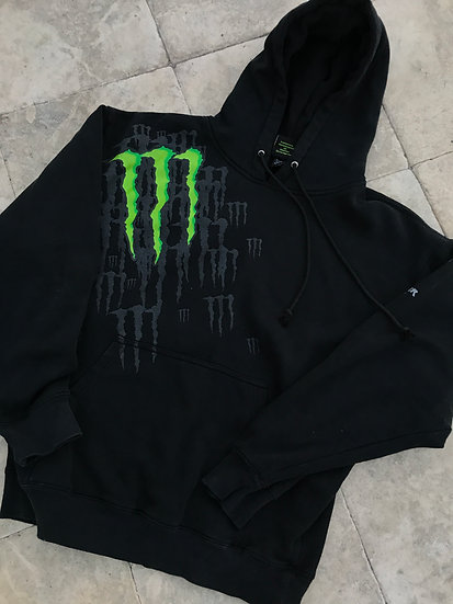 Monster Energy 'athlete only' sweatshirt