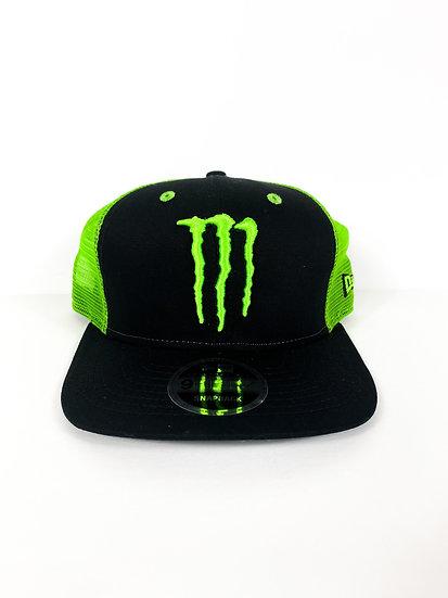Monster Energy Athlete Only Snapback green mesh/black