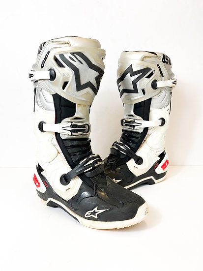 """Alpinestars Tech 10 Racer athlete only """"Victory"""" boots Size 9"""
