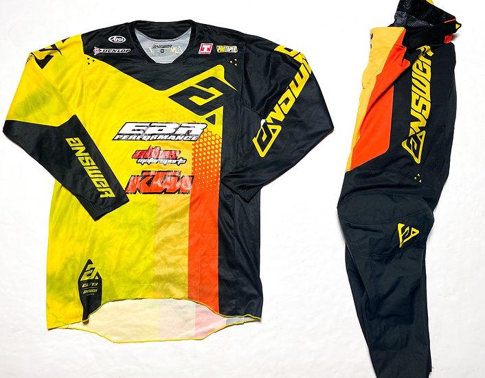 Answer Racing Elite yellow/black gear combo (32/M)