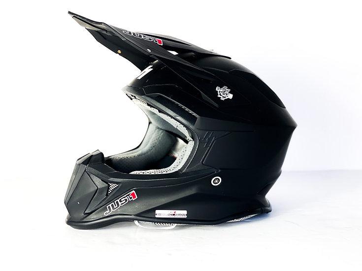 JUST1 MX Helmet matte black Size Small