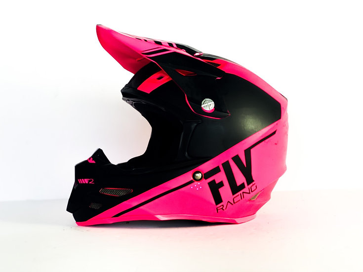 Fly F2 Carbon MIPS pink/black helmet Size Medium