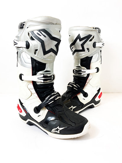 """Alpinestars Tech 10 Racer athlete only """"Victory"""" boots Size 10"""