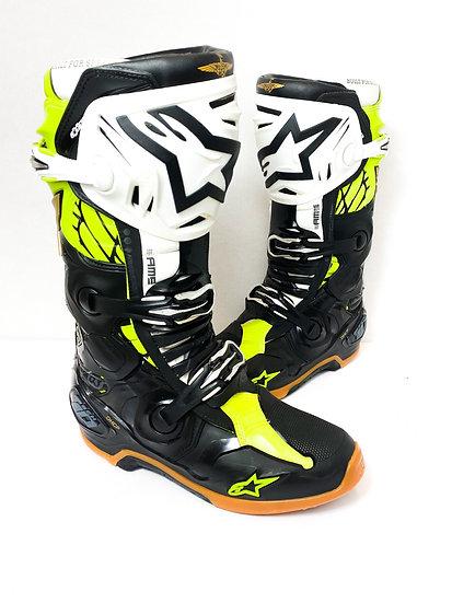 "Alpinestars Tech 10 Racer version Unreleased ""Seattle Space LE"" boots Size 9"
