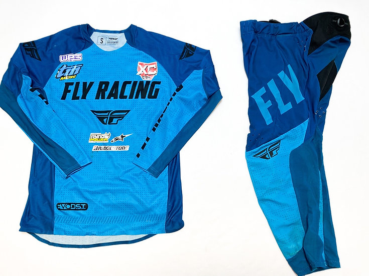Fly Evolution teal/blue gear combo (30/S)