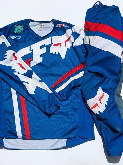 Fox 180 Cota blue gear combo (32/XL)