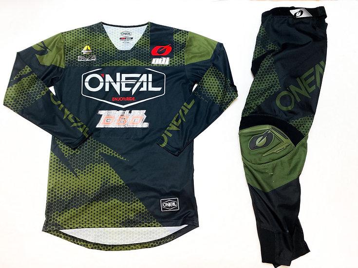 O'Neal Mayhem olive/black gear combo (32/M)