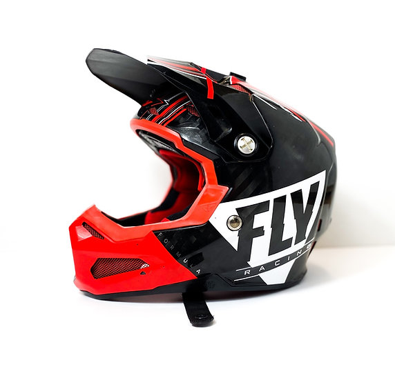 Fly Formula Carbon red/black Helmet Size Small
