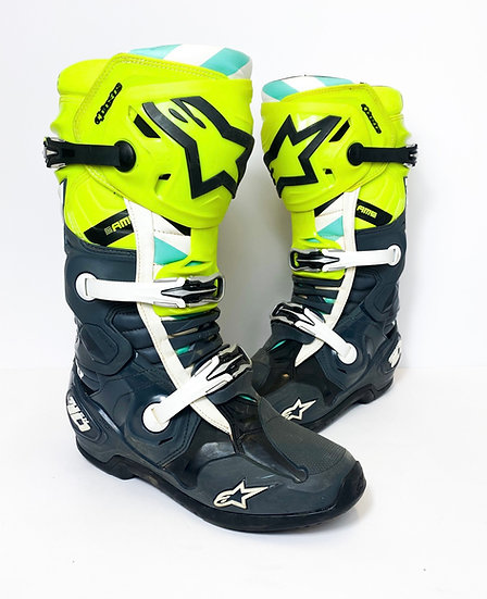 """Alpinestars Tech 10 """"A1 2020"""" Unreleased Athlete Only Boots Size 10"""