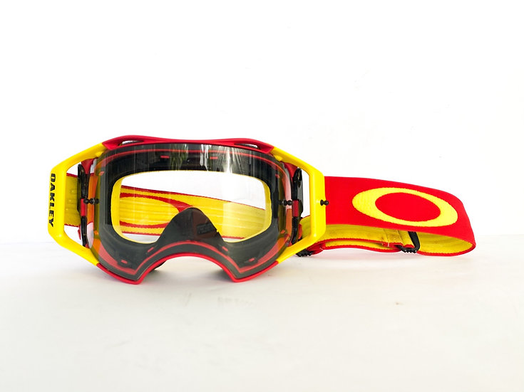 Oakley Airbrake red/yellow