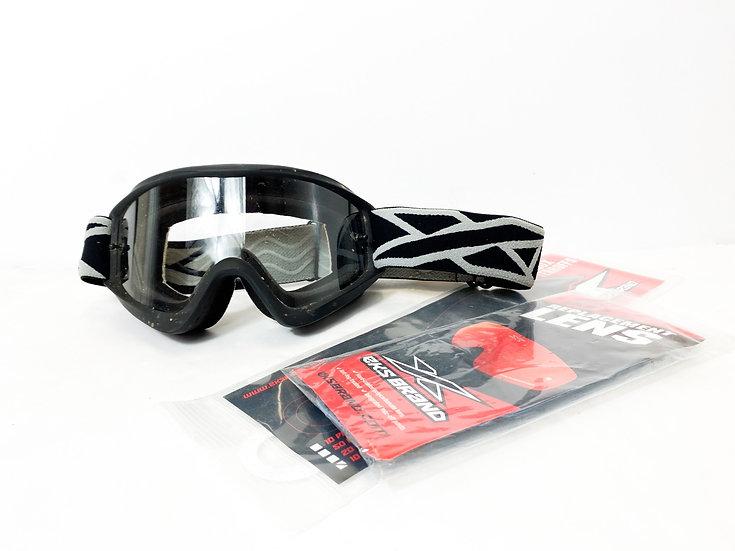EKS Brand grey/black goggles