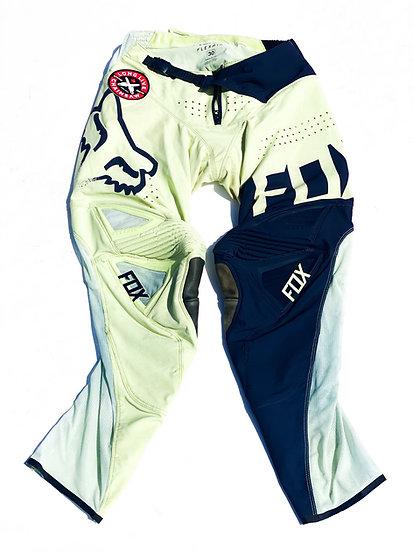 Fox FLEXAIR navy/yellow pants Size 30