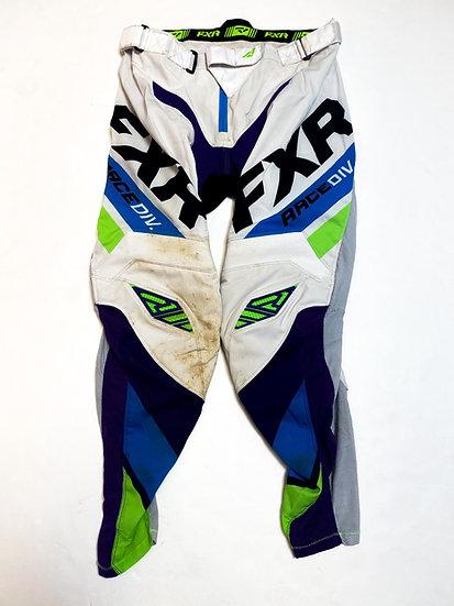 FXR pants white/blue Size 32